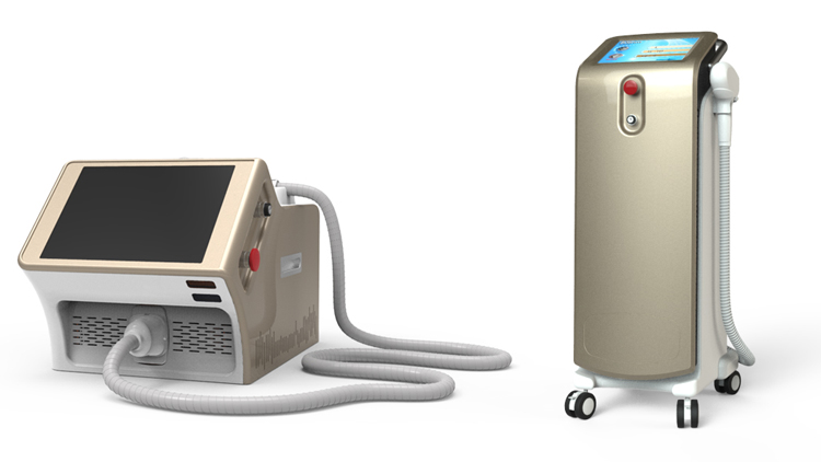 808nm professional laser diode beauty machine depilight hair removal machine