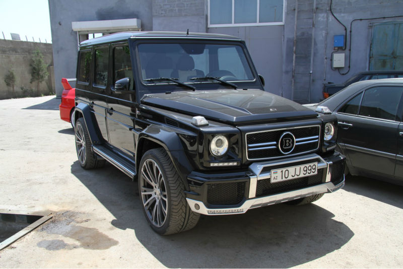 Mercedes benz g class brabs style large corps kit g55 for Mercedes benz body styles