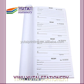Duplicate Invoice Book Custom Cash Receipt Book Custom Sales Book  Invoice Books Custom