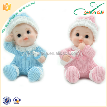 Polyresin Baby Shower Souvenir Baby Figurines Buy Baby Figurines