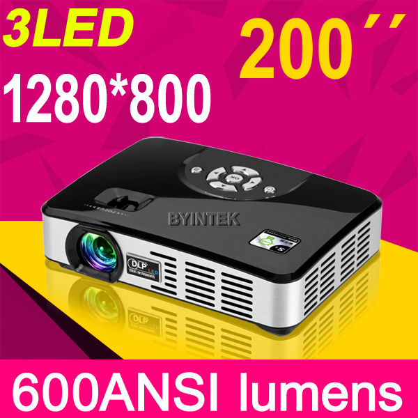 mobile phone projector android Home theater cinema Full HD multimedia video RGB 3D 1080p LED DLP projector
