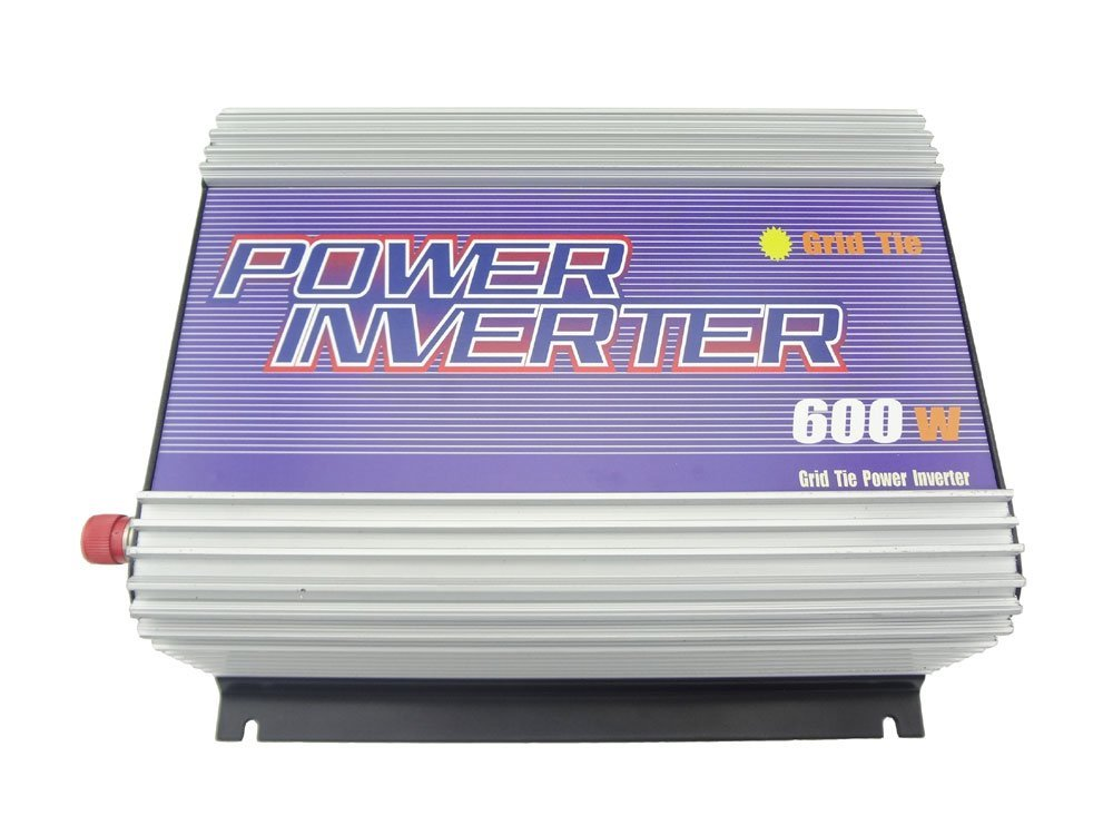 MISOL 600W Inverter (DC22V-60V to 110 VAC), grid tied, for PHOTOVOLTAIC system