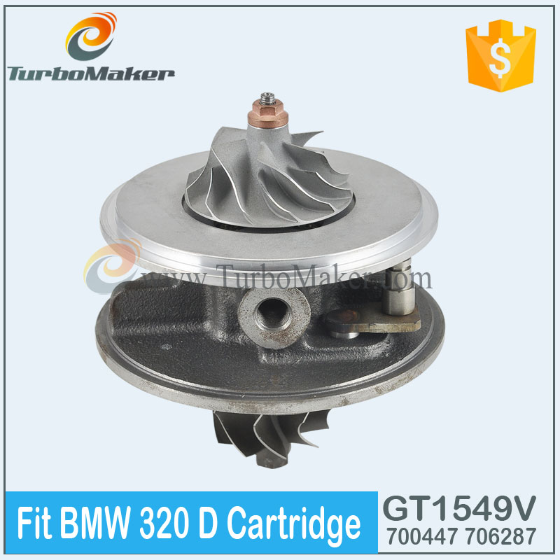 Turbo Cartridge 1165224729F 700447 CHRA fit passenger car 520|320|318 10kw