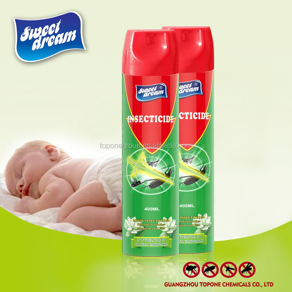 Manufacturer Supply 400 ml Sweet Dream Brand Spray Mosquito Insecticide,Pest Control Insecticide Spray For Kill Insect
