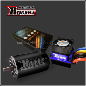 HOBBY RC car brushless sensorless motor 2300kv 60A ESC combo US $10-45/ Pack