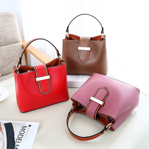 NS2417 European Fashion Ladies High Quality PU Leather Women Casual Handbags