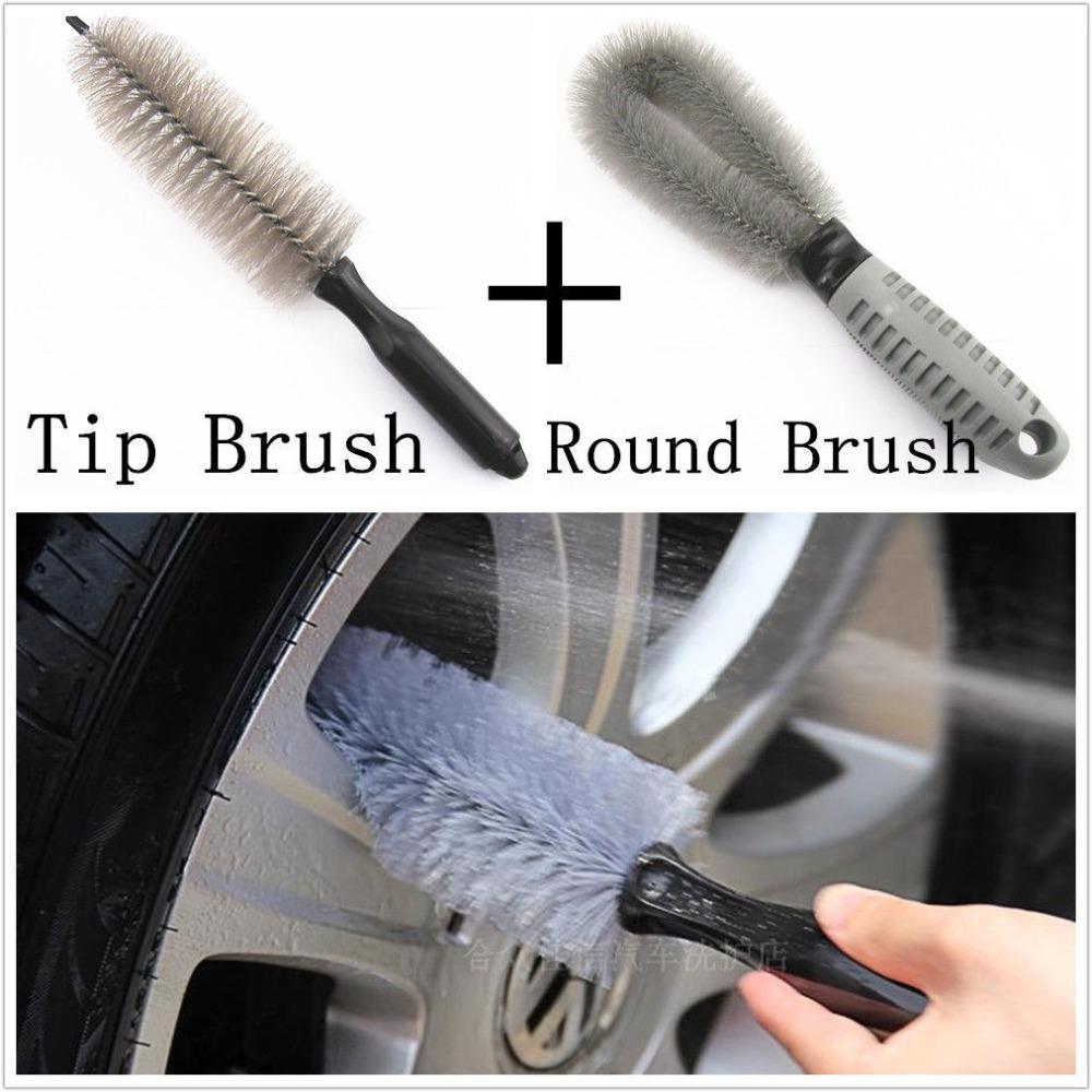 Портативный многофункциональный обода колеса шины для очистки щетка для мытья набор инструментов для автомобиля