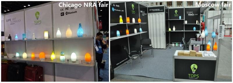 Tops-lighting Bright Ajustable Cordless Arc Egg Led Floor Lamp ...