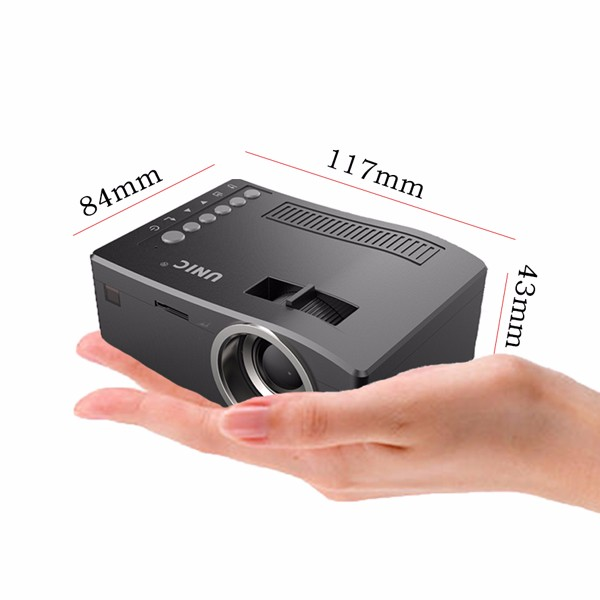 1Chip mini led projector uc18 latest projector mobile phone