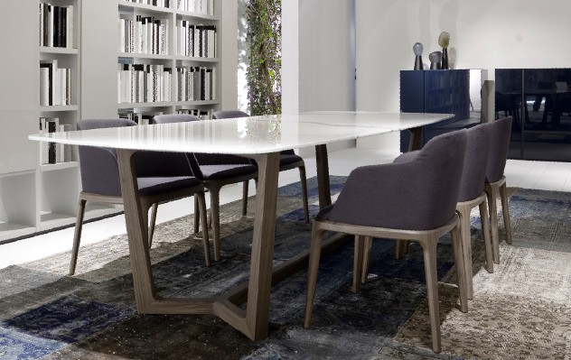 Wooden chairs family wood tables wood dining Italian ...