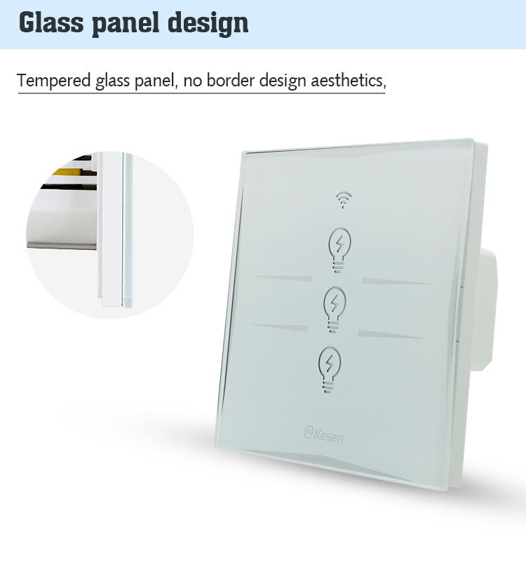 Smart Home Ein Gang Wifi Licht Schalter,Wifi Gesteuert Netzschalter ...
