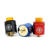 Buy in stock !!! 2016 gold vap 1:1 clone kennedy 24 rda with SS ...