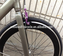 High quality alloy 700c fixie gear bike aluminum alloy 700c track bike with mudguards