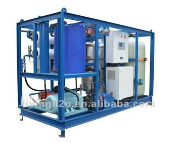 Sea water desalination filter machine