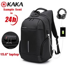 2018 new camera antitheft usb travelling custom backpack smart waterproof clear anti theft laptop backpack