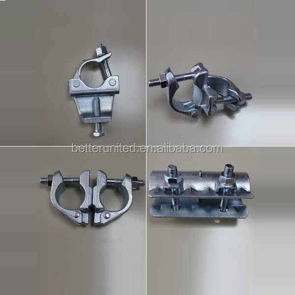 High Quality Factory Price malleable iron/cast 90 degree scaffolding clamp coupler