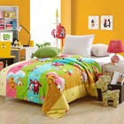 Skin-friendly 100% cotton soft and comfortable baby/crib bedding set
