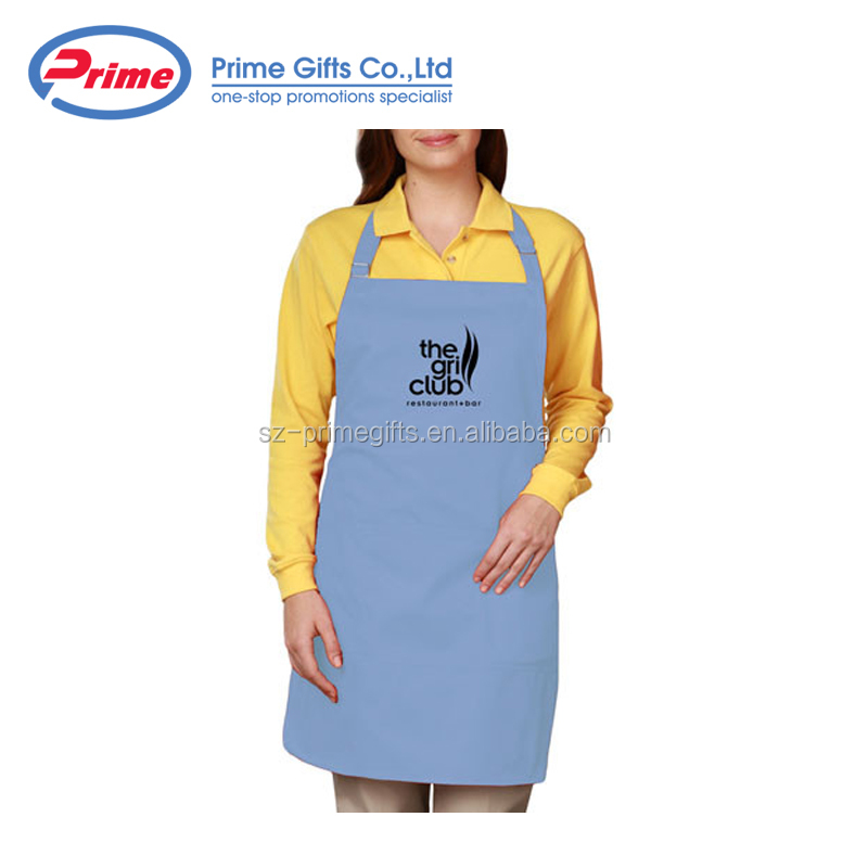 Hot Sale Twill Bib Apron for Woman with Custom Logo