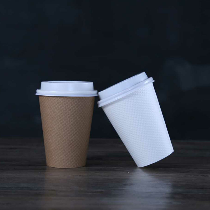 12 oz Reliëf Cup_disposable koffie cups