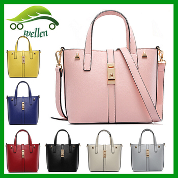 Wellen Bag Push Lock Purse And Handbags Popular Korea Ladies Handbag ... 1fc40a9546c7