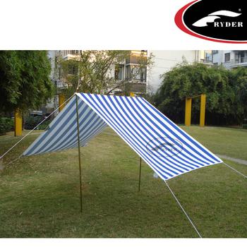 Aluminum Pole Outdoor Tarp Beach Sun Shade Foldable Car Tent