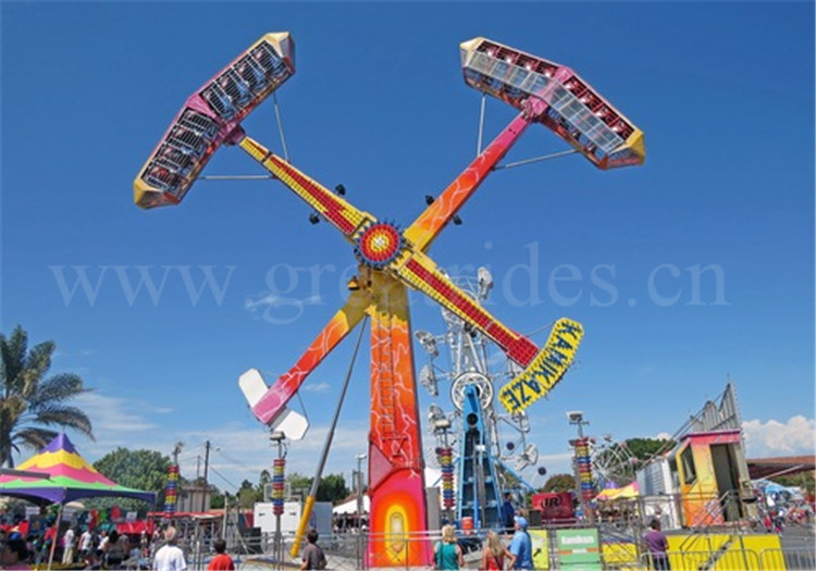 New Design Funfair Rides Adult Carnival Games 16 Seats 360 Angle Rotary  Kamikaze Ride For Sale - Buy Funfair Rides For Sale,New Games,Carnival  Games ...