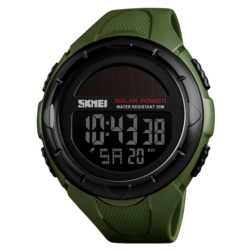 China factory skmei digital watch 1405 waterproof military sport solar mens fashion watch, Khaki;blue;black;red;army green