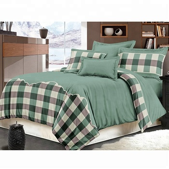Twin Bed Bedding Sets.100 Cotton Check Pattern Twin Bed Sheet Quilt Cover Bedding Set Hotel Bed Sheets Bed Linen Buy Pure Linen Bedding Bedding Sets Luxury 100
