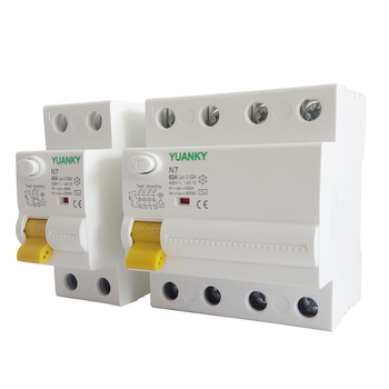 Professional manufacturers 40A N7 electronic rcd residual current device