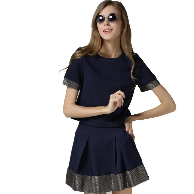 2bd5843d67ce Get Quotations · Sexy Women Two piece Outfits Skirt 2 Piece Mesh Skirt  Summer work wear skirt Night Club