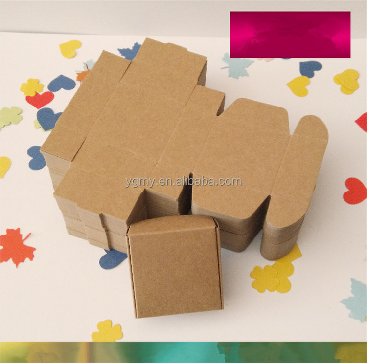 blank paper box packaging, kraft cardboard boxes, paper soap box