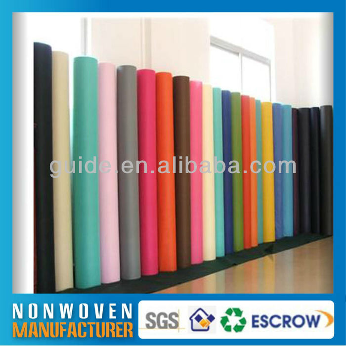 Daily Use 100% Polyester Fabric Nonwoven Flower Wrapping For Exquisite Show Window Decoration
