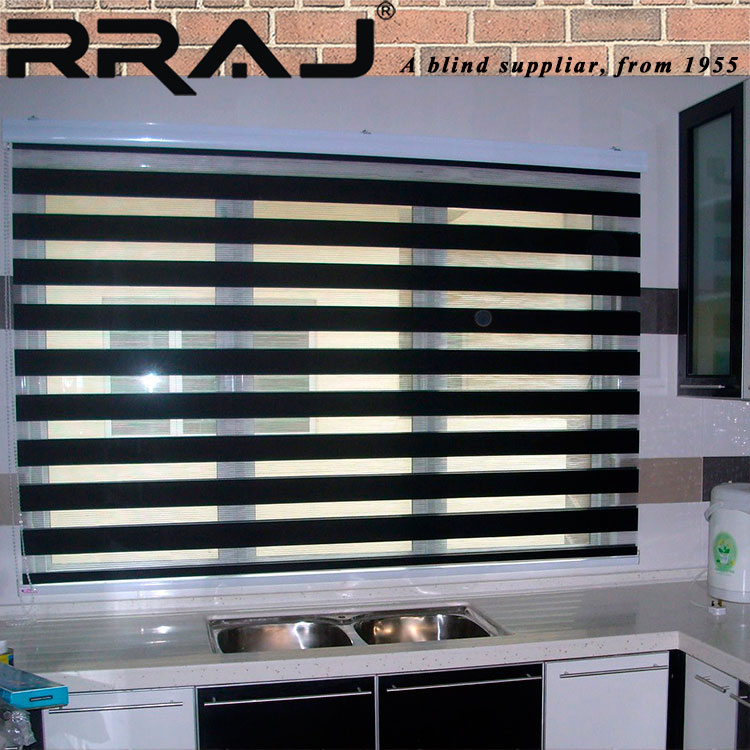 RRAJ Day and Night Zebra Shades Blinds