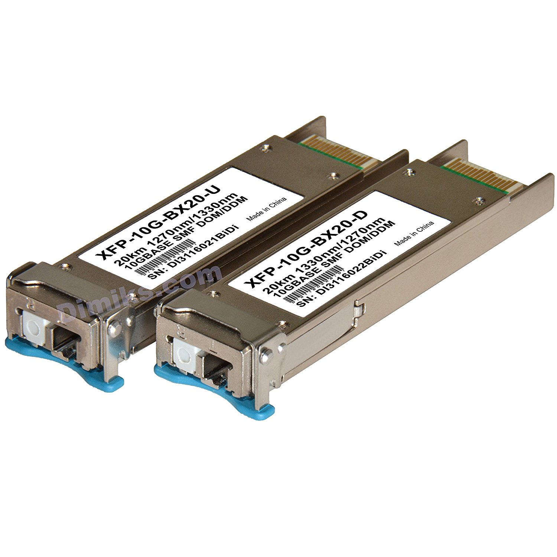 Cisco 60km XFP BiDi WDM 10G BX60-D//U 10GB 60 km transceiver