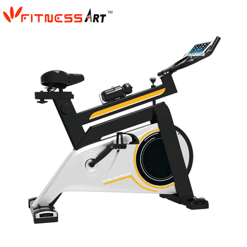 Lightweight spin bike stationary bike trainer belt drive spin bike