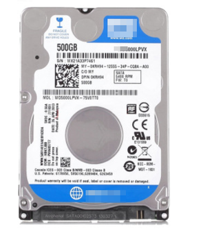 Hot sell and New Blue 500G Hard Disk Drive HDD For Laptop