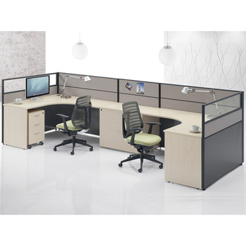 2 Person Workstation Staff Desks Furniture Design Office