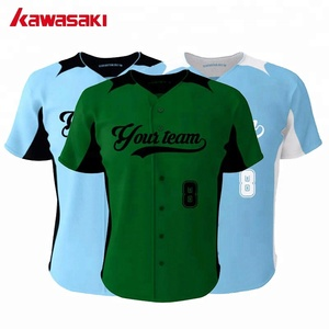 Sublimation 100% Mesh Polyester fashion baseball jersey cheap blank baseball jerseys