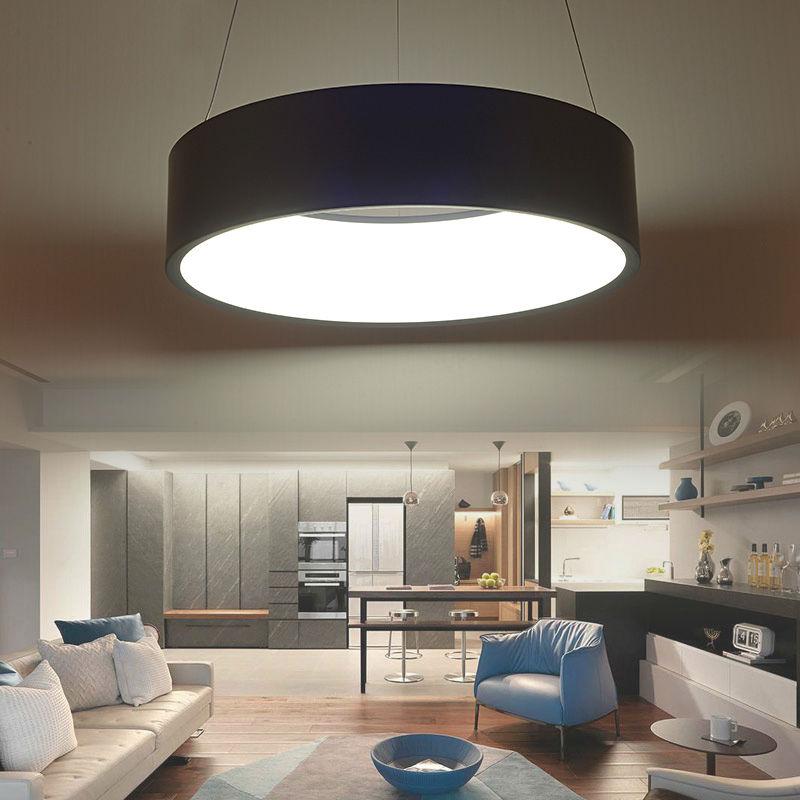 Modern led pendant lights fixture for living room dining - Modern lamp shades for living room ...