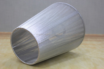 Silver color thread wrapped light cover organza lamp shades for silver color thread wrapped light cover organza lamp shades for hotel aloadofball Choice Image