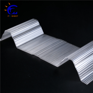 corrugated pvc roofing sheet/heat resistant /corrugated plastic sheet