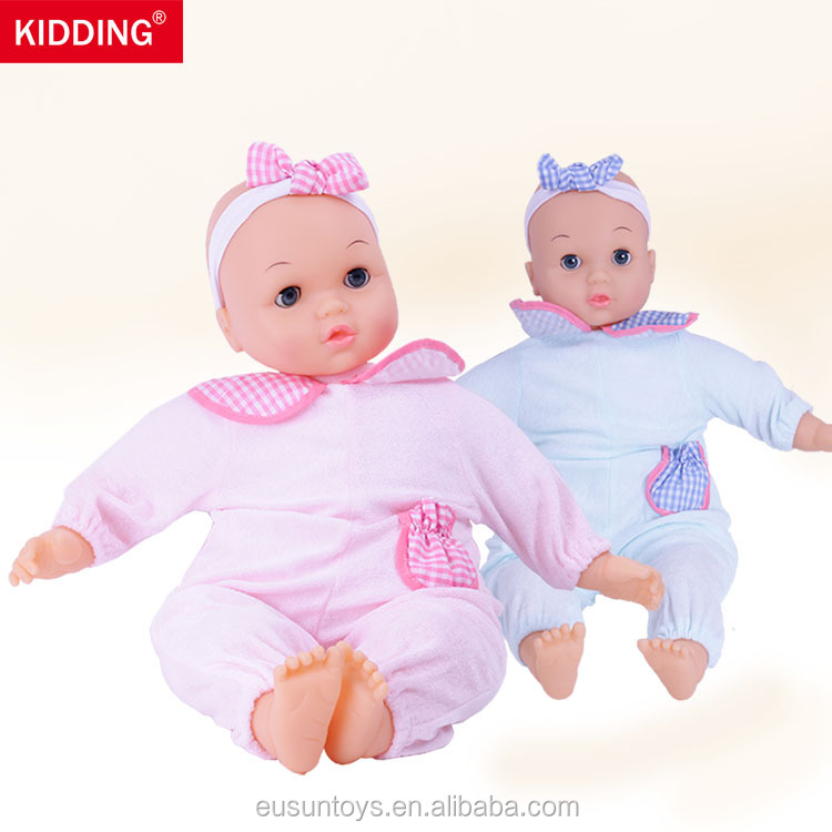 60cm Training Toys infant nurse educational baby dolls with full cotton body