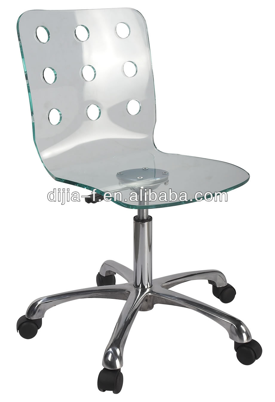 clear acrylic swivel chair clear acrylic swivel chair suppliers and at alibabacom - Clear Desk Chair