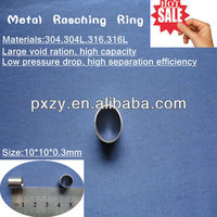Metallic Raschig Ring tower packing