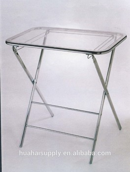 transparent acrylic folding table cheap console table corner table