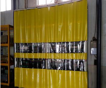 Gordijn Als Scheidingswand : Sound control & noise proof industriële side pvc gordijnen magazijn