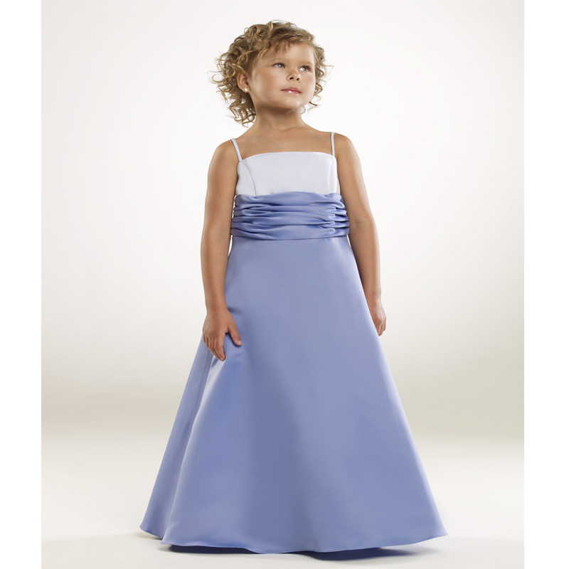 Cheap purple flowergirl find purple flowergirl deals on line at get quotations cheap junior flower girls dresses satin white and light purple sashes floor length kids wedding gowns mightylinksfo