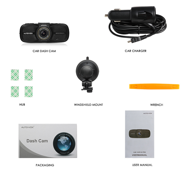 The best Night Vision 1080p car camera dvr video recorder dashcam