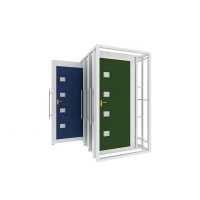 Retail Door Sample Display Stand for sliding door -D016