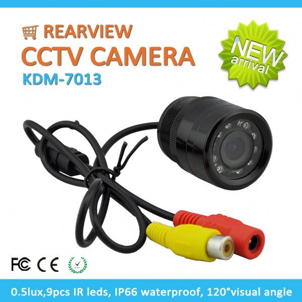 2016 Best Selling CMOS 700tvl 120degree Rearview Security rear view camera for skoda fabia